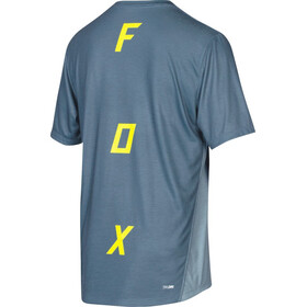 Fox Indicator Asym SS Jersey Men blue steel